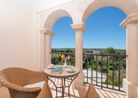 Hotel Migjorn op Mallorca, Spanje zitje met uitzicht Hotel Migjorn**** 30pluskids