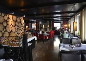 Berghotel Axx in Tirol, Oostenrijk restaurant Berghotel Axx 30pluskids