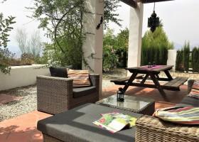 Casa Lobera in Andalusie, Spanje terras 2018 Casa Lobera  30pluskids