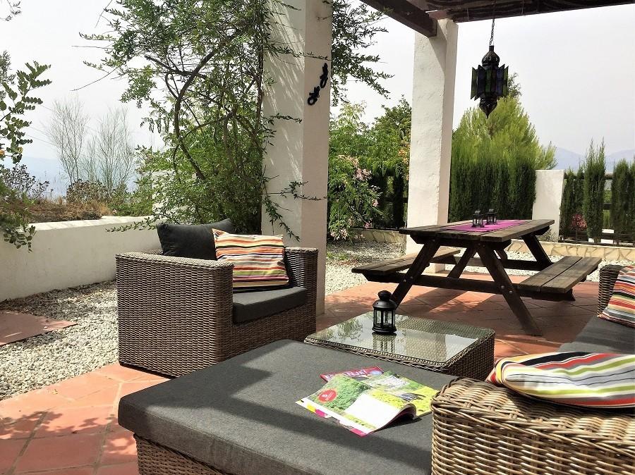 Casa Lobera in Andalusie, Spanje terras 2018 Casa Lobera  30pluskids image gallery