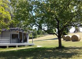 La Parenthese Camping Les Ormes in de Lot-et-Garonne, Frankrijk vakantiehuisje La Parenthèse – Camping Les Ormes  30pluskids
