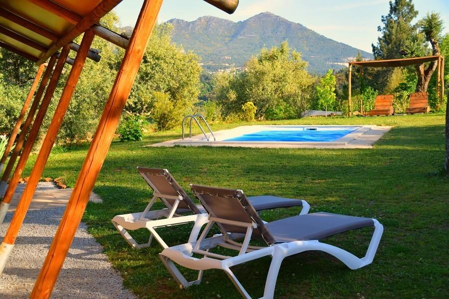 Quinta do Cascalhal safaritent met zwembad