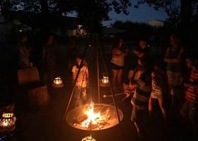 Rendez-vous in Roaix, Frankrijk marshmellows roosteren Vakantieverblijf Rendez-Vous 30pluskids