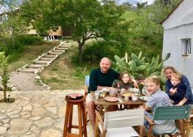 Quinta Vida Verde in Macieira Almoster, Portugal 5 familie ontbijt Quinta Vida Verde 30pluskids