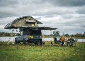 Landrover Dream Holiday, Nederland daktent en volledige uitrusting Landrover Dream Holiday 30pluskids