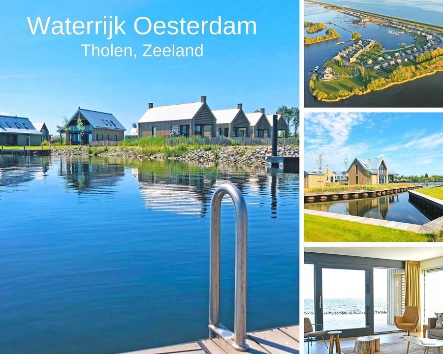 Waterrijk Oesterdam in Tholen, Zeeland in Nederland