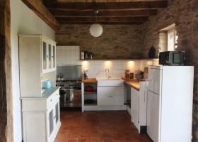 Puech de Cabanelles in Tréban, Frankrijk keuken Puech de Cabanelles 30pluskids