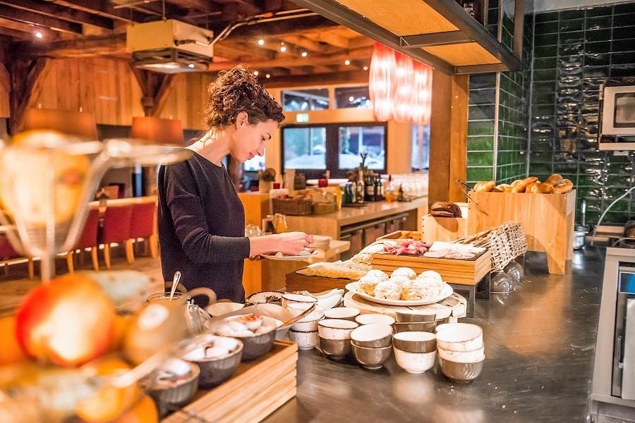 Ergoed Bossem in Twente, Nederland ontbijtbuffet 2019