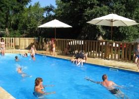Camping Chantegril in de Correze, Frankrijk zwembad Camping Chantegril 30pluskids