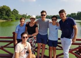 Travelnauts rondreis Vietnam 06 Zeilen, rijstvelden en markten in Vietnam met kinderen 30pluskids