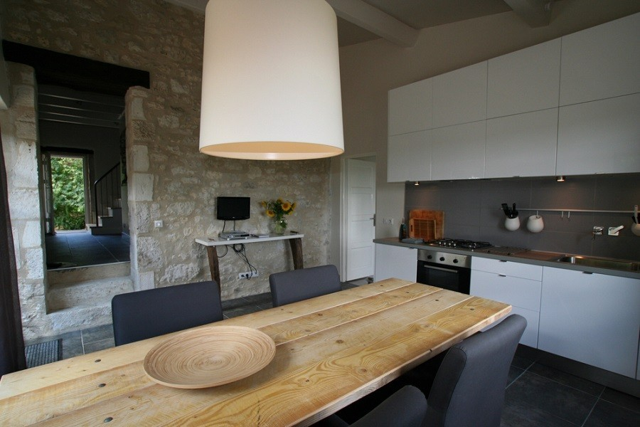 Villa Lafage in de Dordogne, Frankrijk pigionnier keuken Villa Lafage 30pluskids image gallery