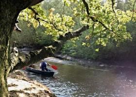 't Keampke just4you2 omgeving  kanoën op de Dinkel.jpg 't Keampke 30pluskids