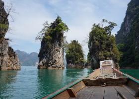 Riksja Family rondreis Thailand prachtige natuur Riksja Family Thailand 30pluskids