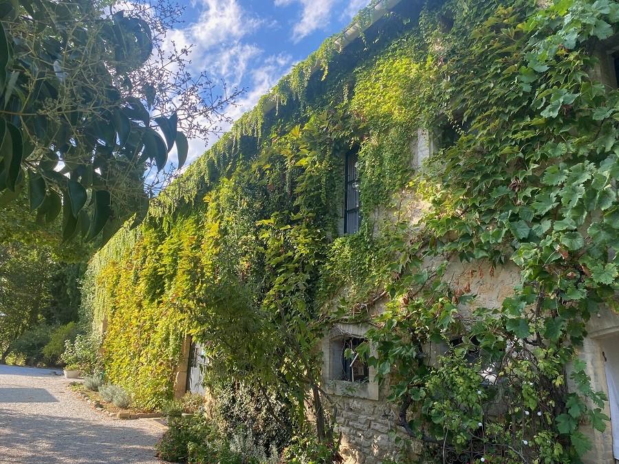 Domaine en Birbes in Laurac, Frankrijk huis zijaanzicht najaar 2020 Domaine en Birbès 30pluskids image gallery