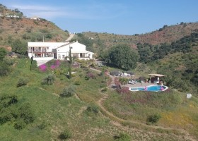 Finca Las Nuevas in Andalusie, Spanje finca en zwembad Finca Las Nuevas 30pluskids