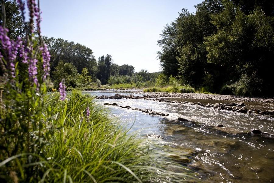 La Vallee Verte rivier de Ceze.jpg Camping La Vallee Verte  30pluskids image gallery
