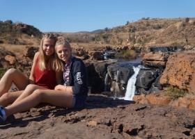 Riksja Family rondreis Zuid-Afrika poseren Riksja Family Zuid-Afrika 30pluskids
