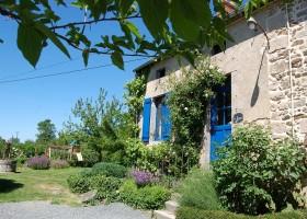 Le Petit Pauliat in de Auvergne, Frankrijk tuin 2 Le Petit Pauliat 30pluskids