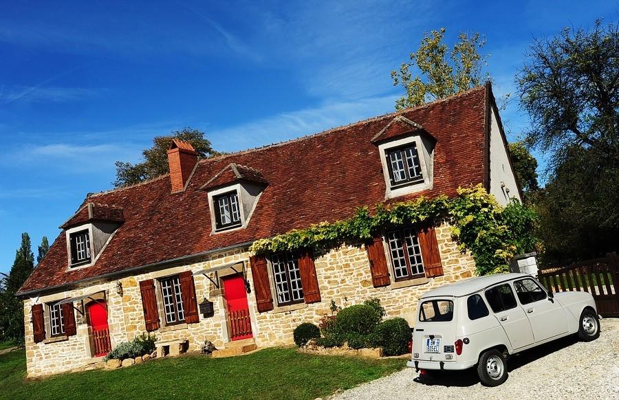 Kimaro Farmhouse in de Bourgogne, Frankrijk boerderij Kimaro Farmhouse 30pluskids image gallery