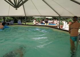 Domaine En Campagne in de Charente-Limousin, Frankrijk zwembad en kinderbad 9 Domaine en Campagne 30pluskids