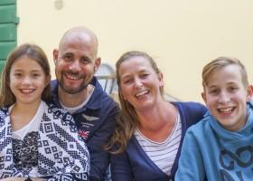 Partingoli in Toscane, Italie Familiefoto 2017  Piazza Pinokkio 30pluskids