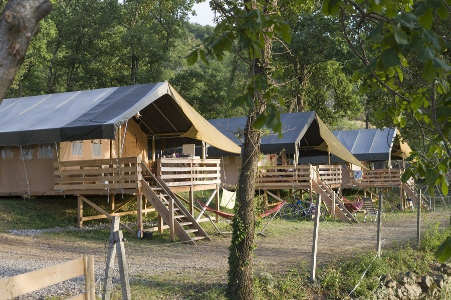Camping Les Charmilles Ardeche Frankrijk safaritenten Camping les Charmilles 30pluskids image gallery