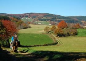 Morvan Rustique paardrijden herfst klein.jpg Morvan Rustique 30pluskids