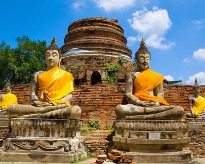 Riksja Family rondreis Thailand Tempel en Tuk Tuks - Ayutthaya Riksja Family Thailand 30pluskids image gallery