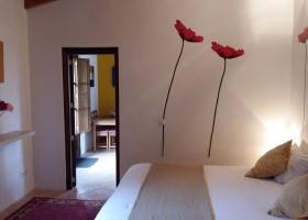 S'Era Vella op Mallorca, Spanje slaapkamer klaproos S'Era Vella 30pluskids