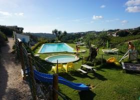 Quinta Laranja zwembaden met uitzicht Quinta Laranja 30pluskids