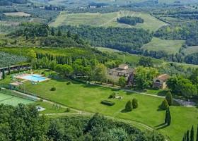 Poggio Montespertoli in Toscane, Italie landgoed Poggio Montespertoli 30pluskids
