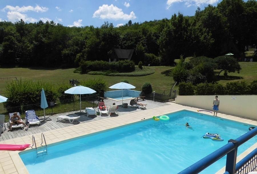 Vakantiepark Platus in de Lot, Frankrijk heerlijk zwembad