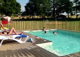 Les Savonniers in de Tarn-et-Garonne, Frankrijk zwembad Les Savonniers 30pluskids
