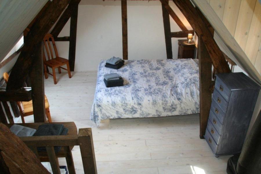 Le Lieu Thomain in Normandie, Frankrijk gite La Grange slaapkamer Le Lieu Thomain 30pluskids image gallery