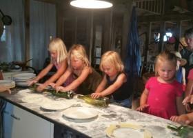 Bonneblond in de Auvergne, Frankrijk kinderen koken Landgoed Bonneblond 30pluskids
