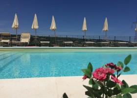 Villa Alwin in Le Marche, Italie zwembad Villa Alwin 30pluskids
