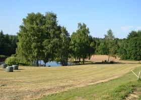 La Legerie in de Haute Vienne vlakbij de Dordogne, Frankrijk meertje La Lègerie 30pluskids
