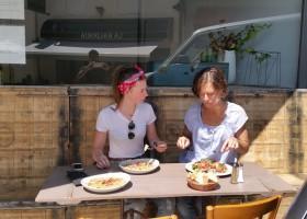 Loft o Village in de Lot et Garonne, Frankrijk buiten eten LO.F.T Ô VILLAGE 30pluskids