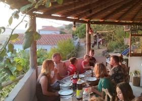 Quinta Horta da Rosa in Leiria, Portugal samen eten Quinta Horta da Rosa 30pluskids