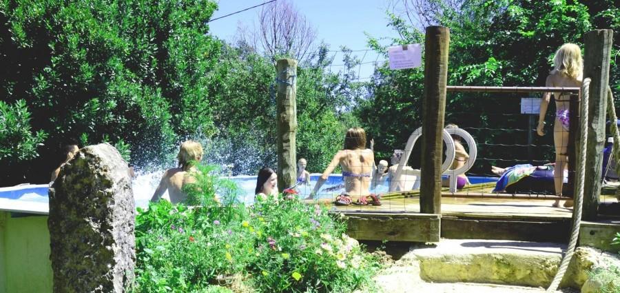 La Ferme d'Helice in Frankrijk zwembadje Ferme d'Hélice 30pluskids image gallery