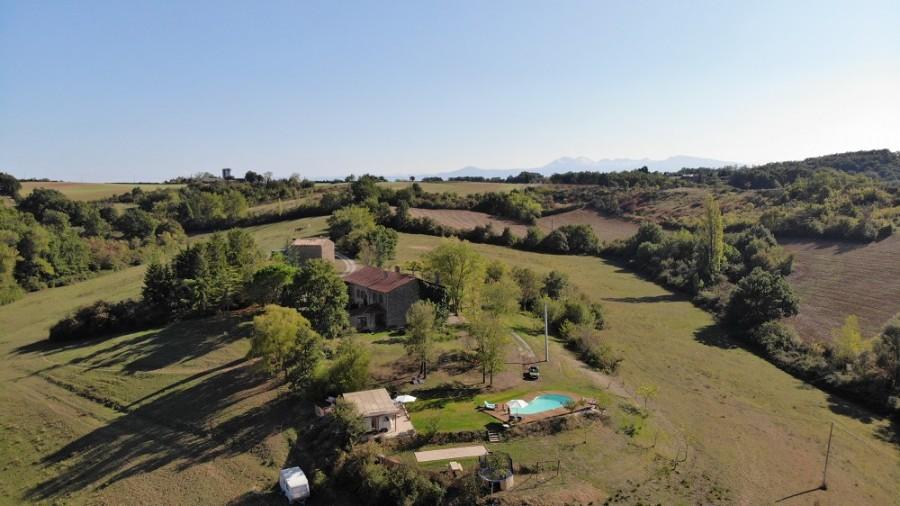 Domaine du Cammazet in Lapenne, Frankrijk vanuit de lucht Domaine du Cammazet 30pluskids image gallery