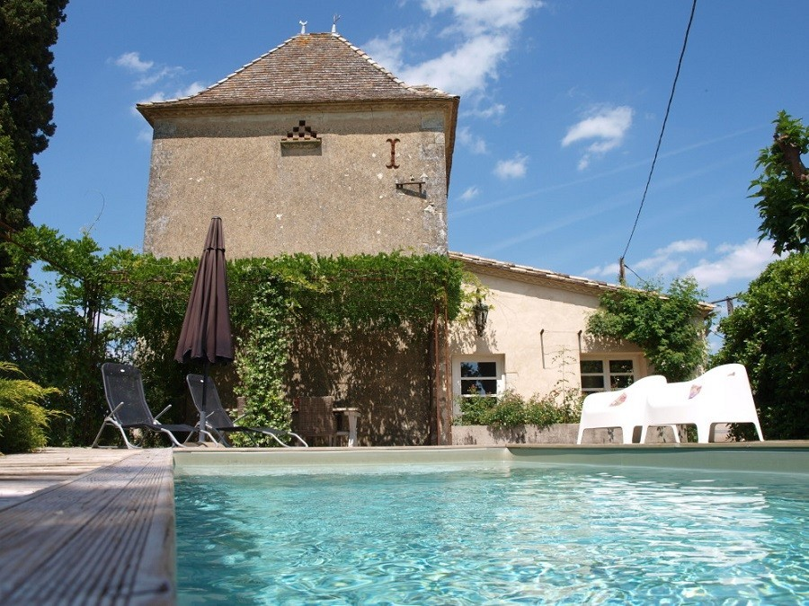 Villa Lafage in de Dordogne, Frankrijk Pigionnier met zwembad Villa Lafage 30pluskids image gallery