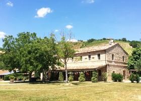 Charme delle Marche Villa della Valle huis 1 Villa della Valle 30pluskids