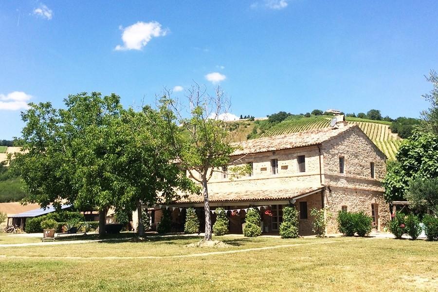 Charme delle Marche Villa della Valle huis 1 Villa della Valle 30pluskids image gallery