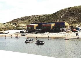 Laguna Beach in Schoorl, Nederland het paviljoen Laguna beach 30pluskids