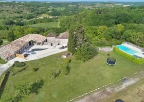 Manoir Hans & Lot in de Tarn-et-Garonne, Frankrijk overzicht 2020 Manoir Hans & Lot 30pluskids
