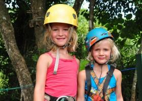 Travelnauts Costa Rica - Canopy Manuel Antonio x Vulkanen, apen, regenwouden in Costa Rica met kinderen 30pluskids