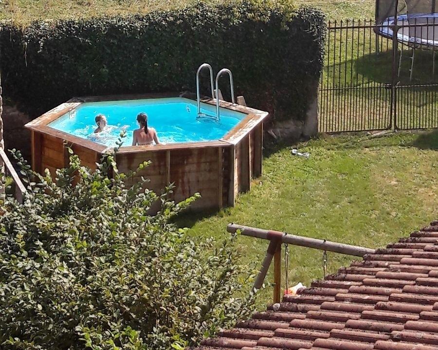 La Paresse en Douce in de Auvergne, Frankrijk zwembad La Paresse en Douce 30pluskids image gallery