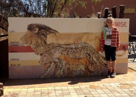 Travelnauts rondreis Namibie Waterberg-Plateau-bord-leeuw-grootte Safari, zandduinen, maanlandschappen in Namibië 30pluskids