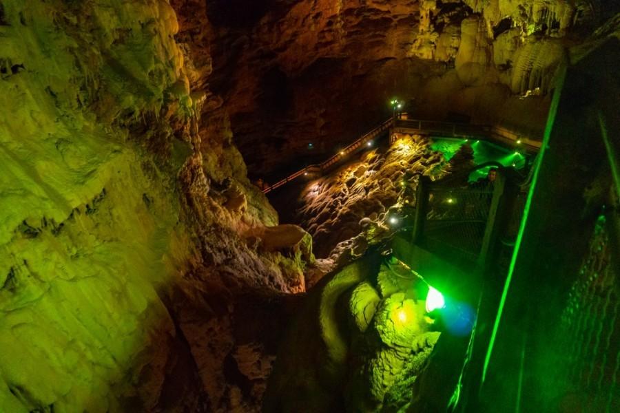 Le Gouffre de Padirac cave in Frankrijk